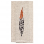 Pheasant Feather Tea Towel