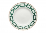 Catene Green Bread Plate