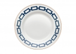 Blue Onion Dinner Plate Lv Harkness Amp Company