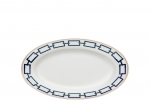Catena Blue Oval Pickle Dish