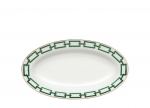 Catene Green Oval Pickle Dish