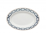 Catena Blue Oval Platter
