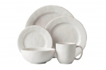 Puro Whitewash 5 Piece Place Setting