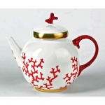 Cristobal Coral Tea Pot