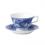 Mikado Blue Breakfast Cup Saucer