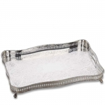 Rectangular Gallery Tray with Claw Feet