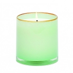 Amber Sea Foam Cottage House Candle