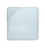 Celeste Blue King Fitted Sheet