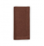 Festival Chocolate Dinner Napkins, Set of Four