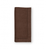 Festival Mocha Dinner Napkins, Set of Four