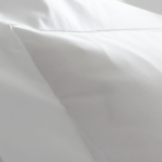 Sierra White Queen Fitted Sheet