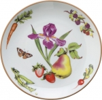 Summerlea Pear and Iris Salad Plate