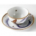 Thistle Cup and Saucer
