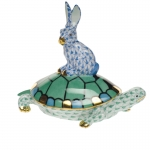 Small Blue/Green Tortoise and Hare