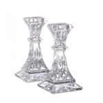 Lismore 6\ Candlesticks, Pair