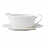 Nantucket Basket Gravy Boat Stand