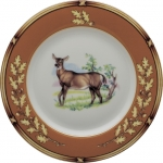 American Wildlife Doe Bread and Butter Plate
