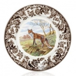 Woodland Red Fox Salad Plate