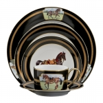 Imperial Horse Five Piece Place Setting