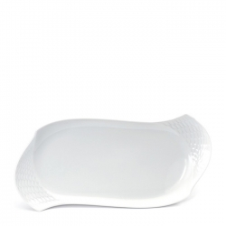Waves Relief Rectangular Platter