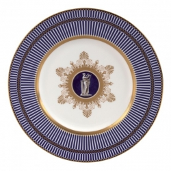 Anthemion Blue Accent Salad Plate