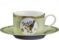 Windsor Bird Tea Cup and Saucer